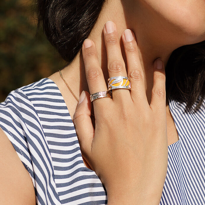 Les Georgettes Personalised Rings