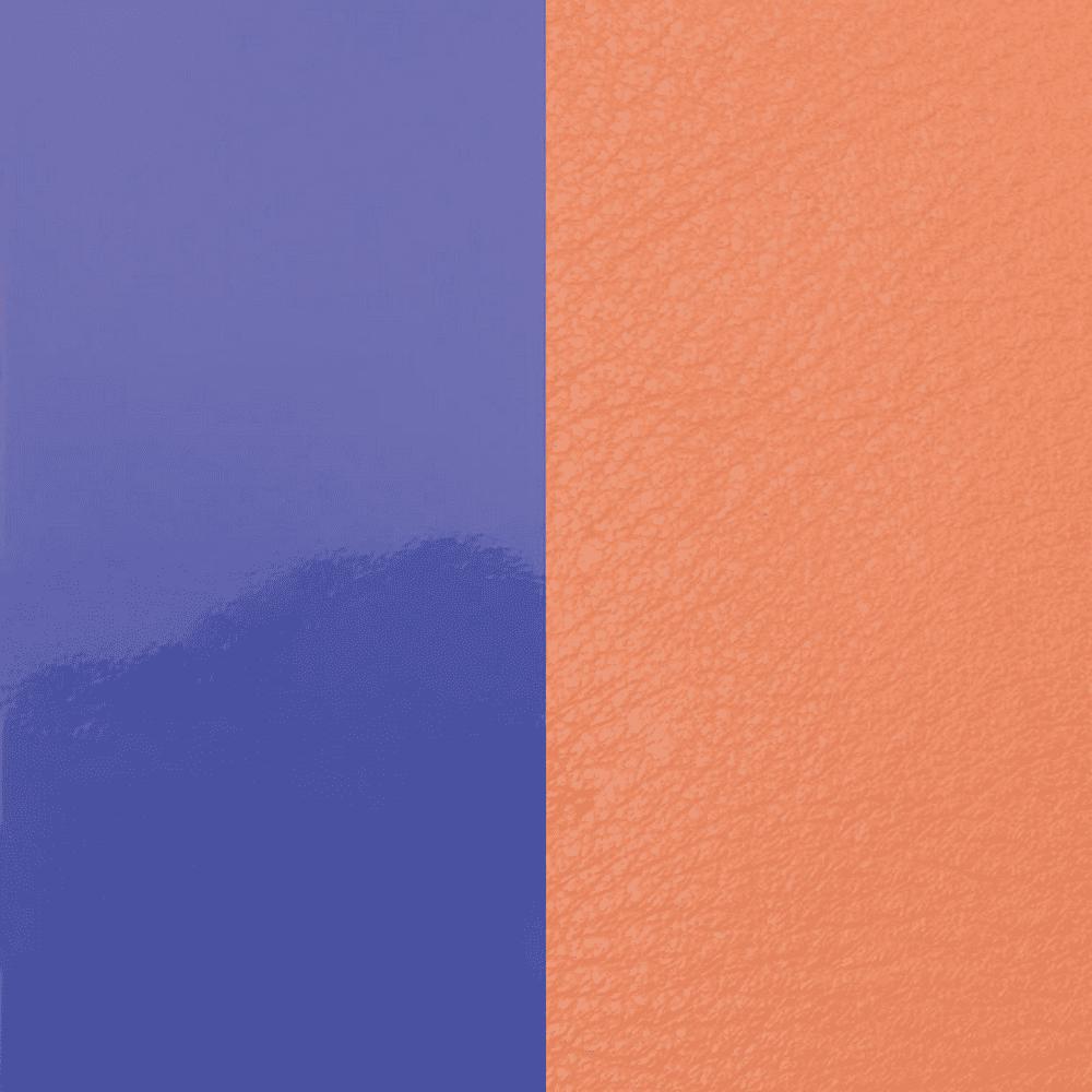 Leather insert Patent Purple / Salmon Pink