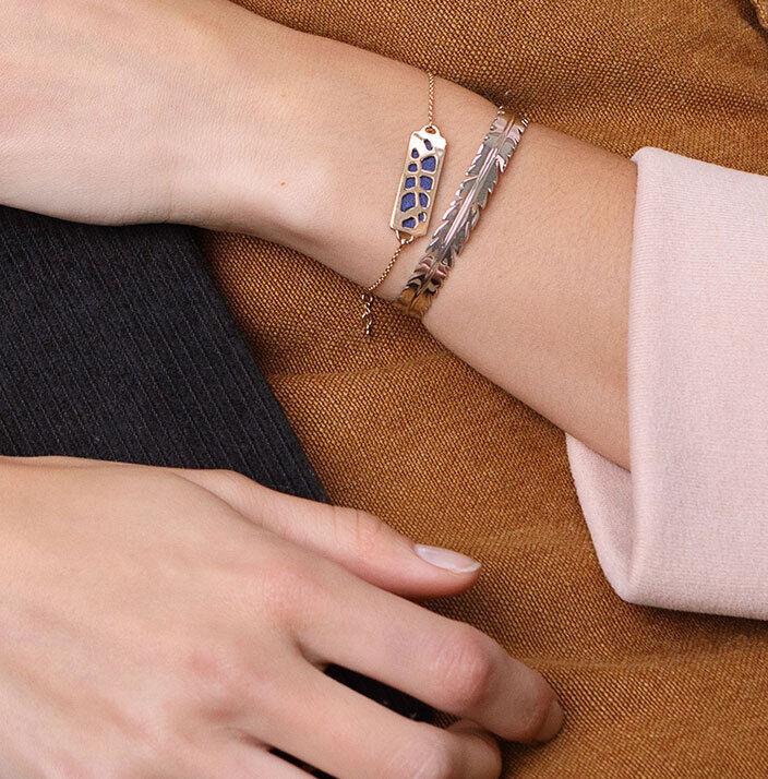 Les Georgettes Chain Bracelets