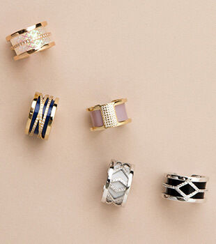 Les Georgettes Rings