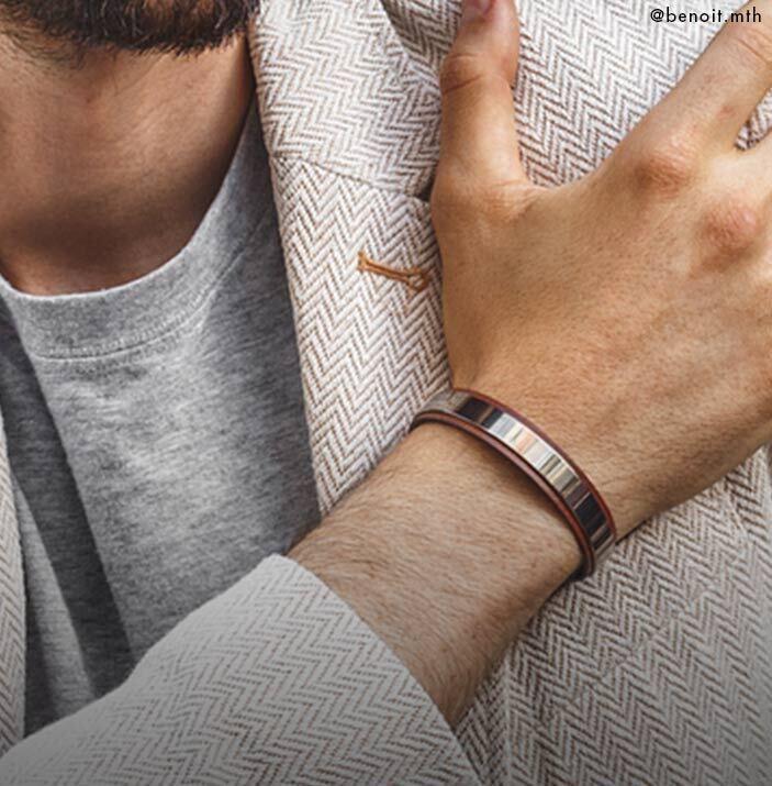 bracelet pour homme bandeau