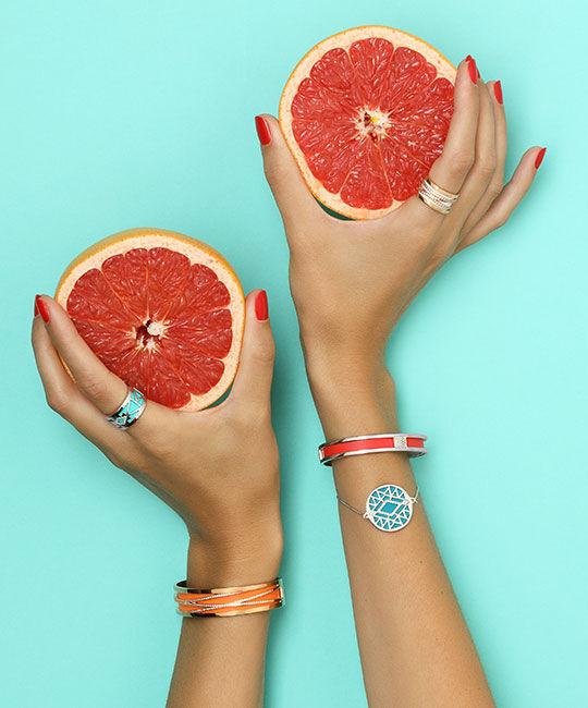 Les Précieuses Bracelets and Rings