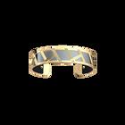 Illusion Bracelet, Gold finish, Matte Navy / Ruthenium image number 2