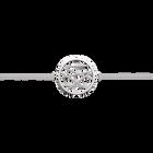 Liens bracelet 25 mm, Silver finish image number 1