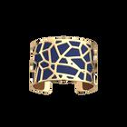 Manchette Girafe, Finition dorée, Bleu Denim / Canyon image number 1