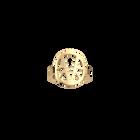 Bague ronde Ibiza 16 mm, Finition dorée image number 1
