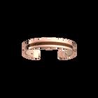 Manchette Pure Originel, Finition dorée rose, Bronze Cubique / Pêche Blanche image number 1
