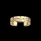 Infini Bracelet 12 mm, Gold finish image number 1