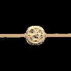Bracelet chaîne Girafe 25 mm, Finition dorée image number 1