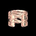 Manchette Dunes 40 mm, Finition dorée rose image number 1