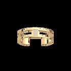 Barrette Bracelet 12 mm, Gold finish image number 1