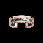 Pure Bracelet, Rose gold finish, Leaves / Petrol image number 1