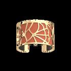 Fleurs du Nil Bracelet, Gold finish, Blush / Bronze image number 1