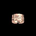 Bague Fontaine 12 mm, Finition dorée rose image number 1
