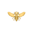 Abeille Pins, Gold finish image number 1