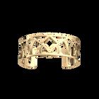Hiboux Bracelet 25 mm, Gold finish image number 1