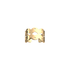 Bague Apache 8 mm, Finition dorée image number 1