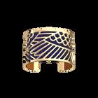 Manchette Ibis, Finition dorée, Lapis / Papyrus image number 1