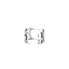 Perroquet ring 12 mm, Silver finish image number 1