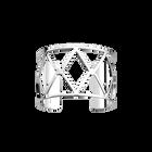 Cannage Bracelet 40 mm, Silver finish image number 1