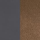Cuir Marine Soft / Chocolat image number 1