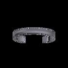 Bracelet Chevron 14 mm, Finition ruthénium image number 1
