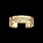 Manchette Alexandrie 14 mm, Finition dorée image number 1