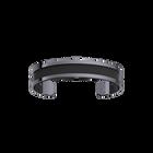 Bracelet Double, Finition ruthénium, Noir / Carbone image number 2