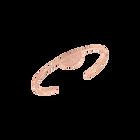 Bracelet Ibiza, Finition dorée rose image number 1