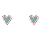 Love Earrings, Rose Gold finish image number 1