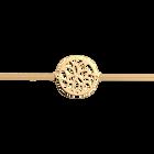 Nénuphar bracelet 25 mm, Gold finish image number 1