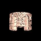 Manchette Nénuphar 40 mm, Finition dorée rose image number 1