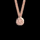Collier Fleurs du Nil, Finition dorée rose, Rose Clair / Gris Clair image number 1