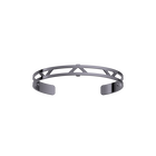 Bracelet Triangle 8 mm, Finition ruthénium image number 1
