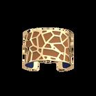 Manchette Girafe, Finition dorée, Bleu Denim / Canyon image number 2