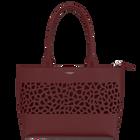 Bag Le Cabas Zippé, Burgundy image number 1