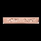 Decorative plaque Nénuphar 25 mm, Rose gold finish image number 1