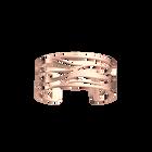 Manchette Vibrations 25 mm, Finition Dorée rose image number 1