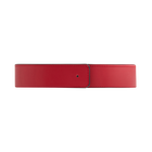 Belt 33 mm width, Raspberry / Dark Brown image number 1