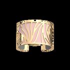 Perroquet Bracelet, gold Finish, Light Pink / Light Grey image number 1