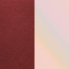 Ledereinsatz, Purpurrot / Muschel image number 1