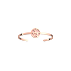 Girafe Bangle, Rose gold finish, Light Pink / Light Grey image number 1