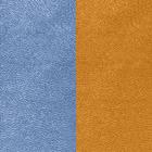 Leather insert for Les Essentielles Belt, Denim Blue / Canyon image number 1