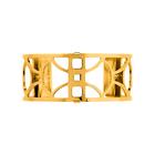Manchette Arc 25 mm, Finition dorée image number 1