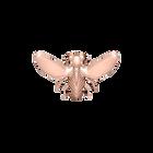 Pins Abeille, Finition dorée rose image number 1