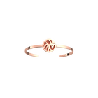 Perroquet Bangle, Rose gold finish, Terracotta / Lagoon Blue image number 1