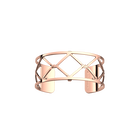 Manchette Cannage 25 mm, Finition dorée rose image number 1