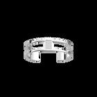 Barrette Bracelet 12 mm, Silver finish image number 1