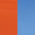 Vinyle Orange Vernis / Bleuet image number 1