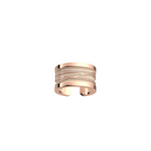 Liens Ring, Rose gold finish, Cream / Gold Glitter image number 2